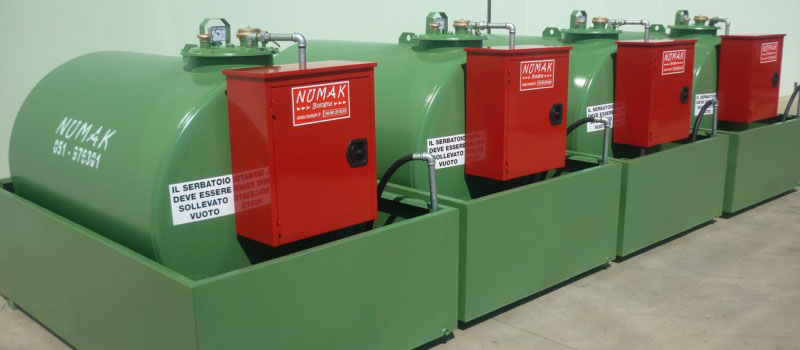 NUMAK TANKS - Production of tanks and dispenser system for